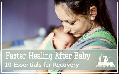 If you are preparing for childbirth, and want to make sure that your postpartum recovery is as speedy and stress free as possible, I have some some essential things that you will want to have on hand for when your baby is born. #NEM #postpartum #healing #baby