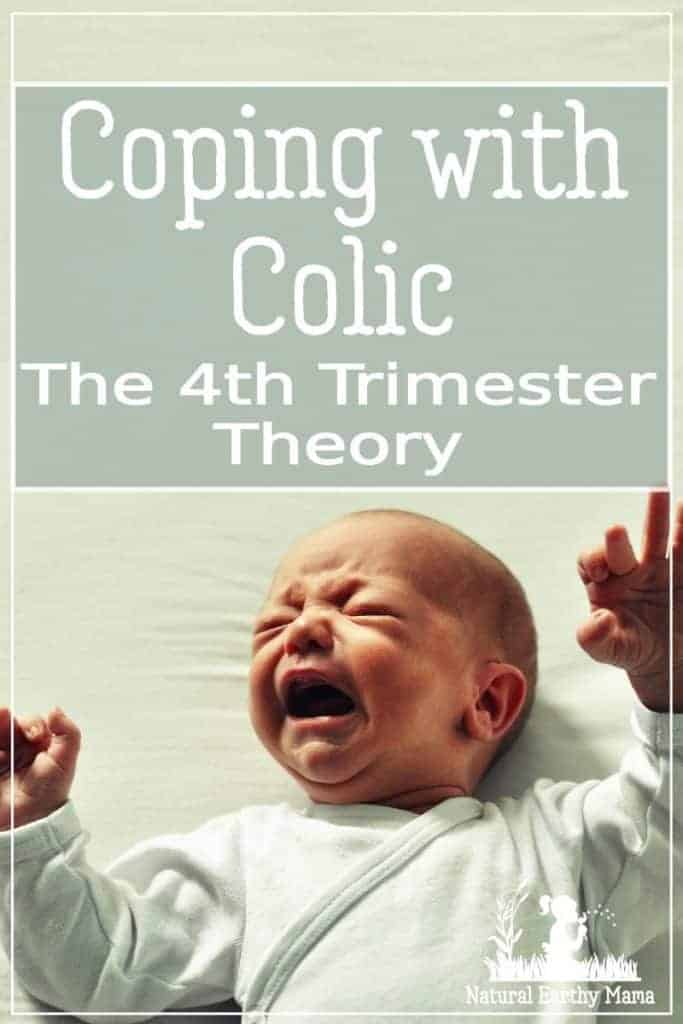 coping with colic in the newborn, the 4th trimester