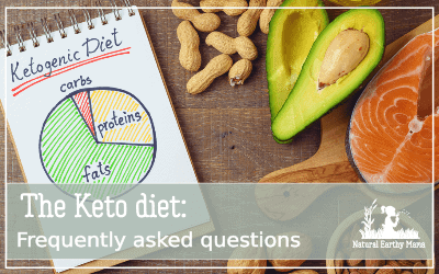 What is the keto diet? how is it different to any other diet? can the keto diet really work for me? Here are some frequently asked questions about the ketogenic diet #keto #ketodiet #ketogenic #weightloss #naturalearthymama