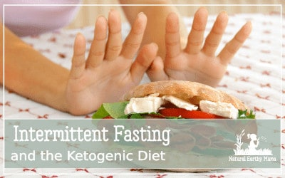 What is intermittent fasting? What are the health benefits? Is skipping a meal good for you? Find out how IF combined witht he keto diet can revolutionize your health #intermittentfasting #ketodiet #weightloss #naturalearthymama