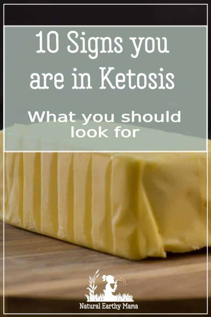 Are you new to the keto way of eating and not sure if you are in ketosis yet? here are 10 signs you can look out for to confirm that you are fat adapted #keto #ketodiet #fatadapted #naturalearthymama