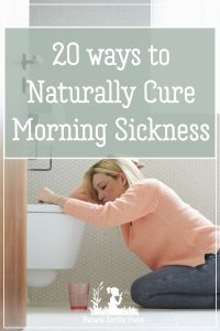 Struggling with morning sickness? Here are 20 effective, natural remedies to treat and cure morning sickness in pregnancy #naturalhealth #pregnancy #morningsickness #naturalearthymama #naturalpregnancy #firsttrimester