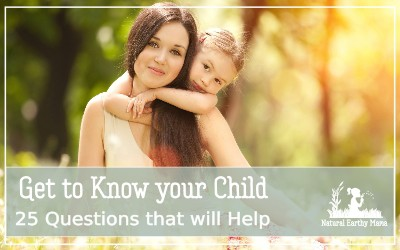Our children are amazing beings. But sometimes life gets in the way and we get lost in the busyness. Taking some time each day to reconnect to your child and get to know them as people is one of the best things that you can do for your life long relationship. Parenting tips #parentingtips #firsttimemom #naturalearthymama.com