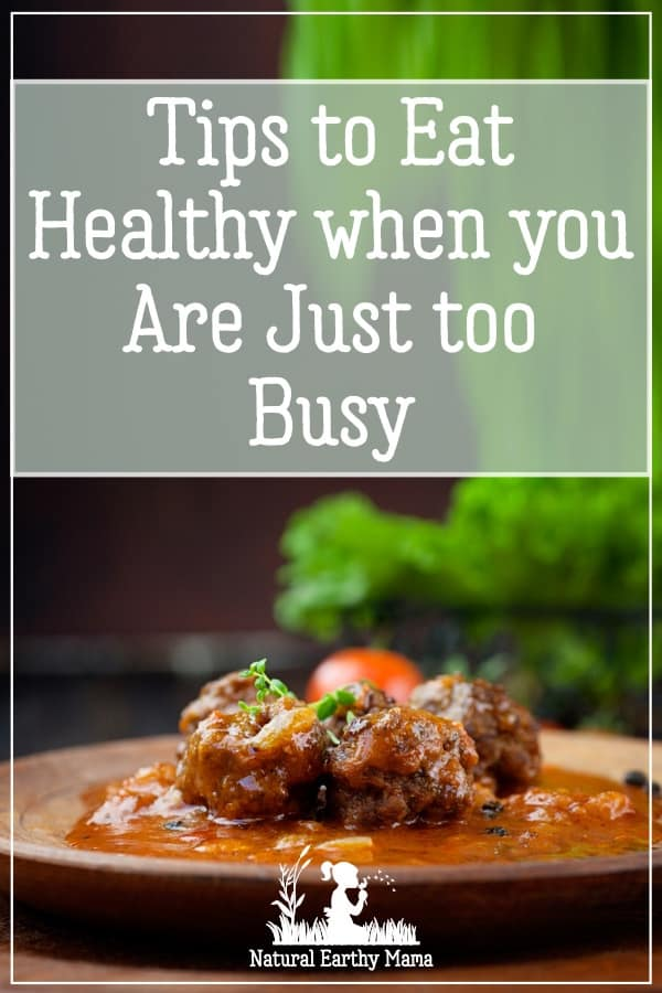 Is life getting crazy for you, and you are getting lost in it all? Your health doesn't have to suffer. Here is how you can use meal planning and still eat healthy. #healthyeating #mealplanning #mealprepping #mealprep #naturalearthymama #mealideas