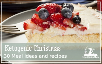 A ketogenic Christmas doesn't has to be sad. Here are 30 amazing, delicious keto recipes that are perfect for your holiday season! I have gathered the best ketogenic recipes from across the Internet. Check them out today, or pin them for later. #ketogenicchristmas #ketorecipes #christmasrecipes #ketotreat #naturalearthymama