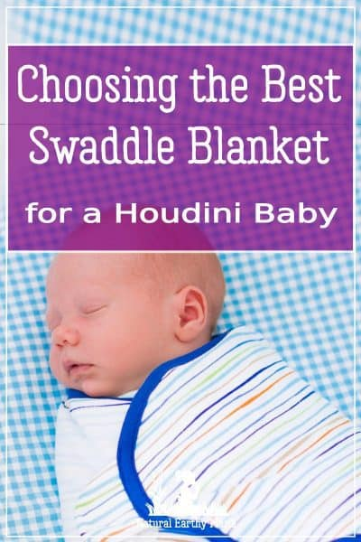 Choosing the best swaddle blanket for a houdid baby that escapes is tricky. Here I have reviewed the best baby swaddles to help you decide. #swaddle #newbornsleep #reviews #babyproducts #babyshower #giftideas #naturalearthymama