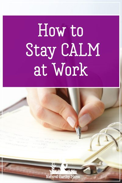 Staying on task and being efficient is especially important on the job. Keep reading to discover why you'll experience less stress at work by focusing on one project at a time. #productivity #naturalearthymama