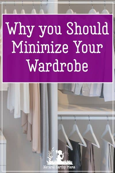 Known as a capsule wardrobe, this small collection of clothing items is meant to mix and match with each other in order to make getting dressed easier, faster, and less confusing. #naturalearthymama #springclean