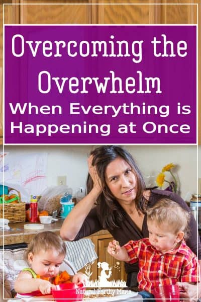Is life getting too much for you? Overwhelmed by too much to do? Need some help reducing stress in your life? Family life can be overwhelmingly stressful for the best of us! There are some great strategies that you can start using today to help overcome stress and reduce the overwhelm in your life. #anxiety @naturalearthymama
