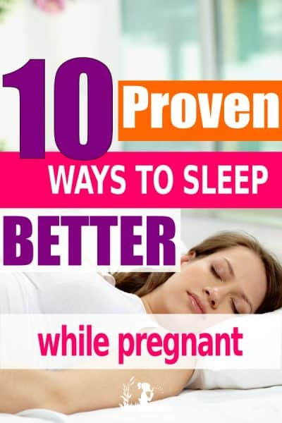 Sleep during pregnancy is super difficult. Here are some proven ways to help improve your sleep during your pregnancy #sleep #pregnancy #naturalearthymama