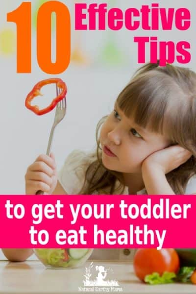 Food refusal, especially with vegetables and fruit can be a real challenge. Getting a toddler to eat vegetables can be a real parenting challenge. Try these great tips to help encourage your preschooler to eat healthy food. Children will love these colorful ideas for healthy eating #naturalearthymama