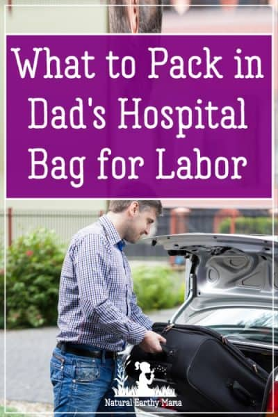 Packing dads labor bag