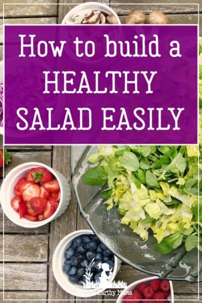 Making a healthy salad is a great lunch idea for people on the go. Learn how to make a healthy salad quickly at home using this unique method