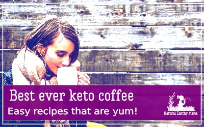 Your morning coffee does not need to be boring! Here are 7 of the best keto coffee recipes to kickstart your morning routine! Make these low carb, high fat drink ideas a new part of your healthy breakfast recipes. #naturalearthymama