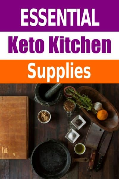 By having the right tools on hand, cooking can become a joy again! These are our 10 keto supplies for the busy keto kitchen!We all know how busy life can become. When it is busy, cooking for yourself and your family can become a daily chore, especially when times are busy!  Perfect for beginners to the ketogenic diet #naturalearthymama