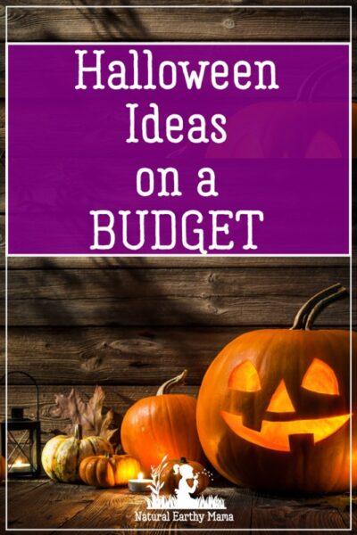 cheap halloween ideas
