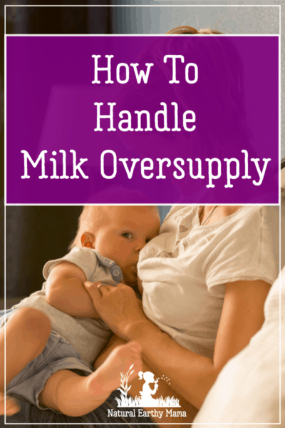 It takes a while for your body to adjust to nursing. Until you get to the optimum milk supply, your body can produce too much milk, especially in the early days of nursing. The supply usually self-corrects, but not for all. If you are dealing with milk oversupply, keep reading to find out what you can do about it.